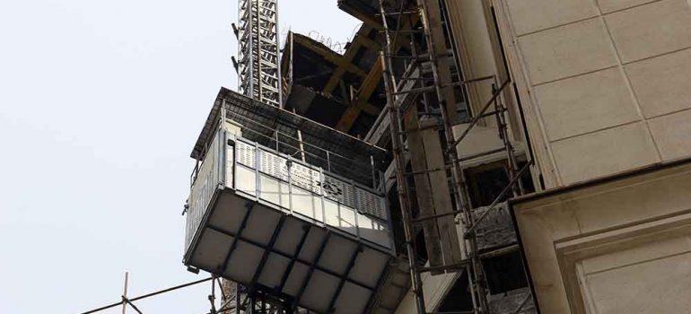 امنیت آسانسور کارگاهی